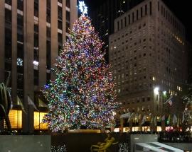 Wann Wird In New York Der Weihnachtsbaum Aufgestellt.Rockefeller Center New York Info